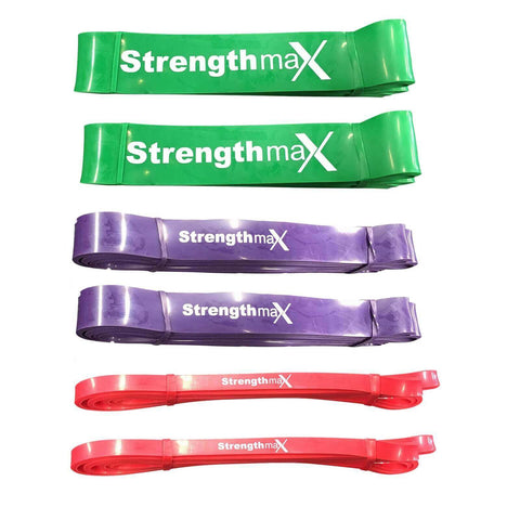 Resistance Power Bands (Set of 6)