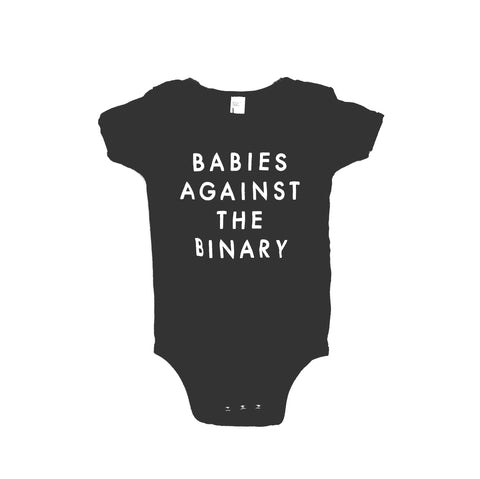 Babies Against the Binary Onesie