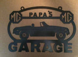 MG MGB 62-76 Metal Garage sign Custom Personalized shop sign