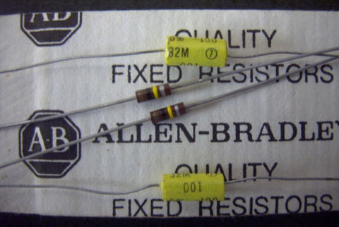 2 x CDE 5% Allen Bradley  Treble Bleed Kits .001uf 100k Humbucker or Single Coil