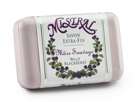 Mistral Wild Blackberry French Soap