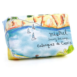 Mistral Provence Road Trip Calanques Marine French Soap