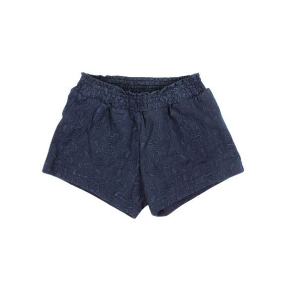 Ariana Broidery Shorts | navy - sale