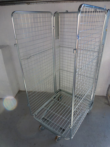 3 sided mesh cage no shelf