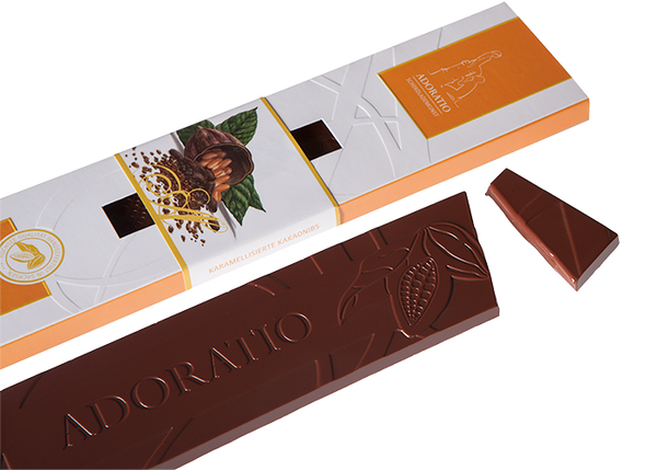 Artisan Caramelised Cocoa Nibs-Chocolate & More Delights