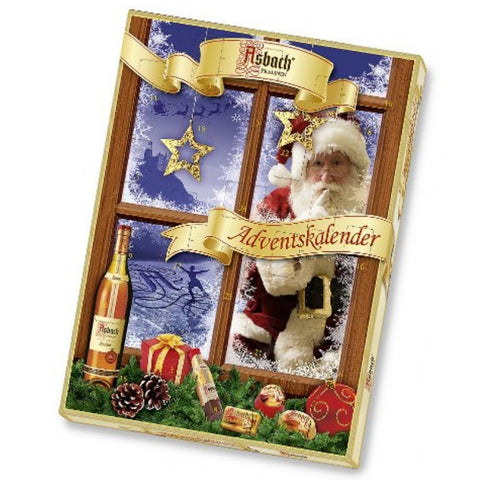 Asbach Advent Calendar - Chocolate & More Delights