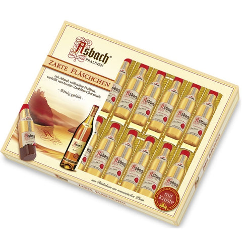 Asbach Liquor Filled Chocolate Pralines - Chocolate & More Delights