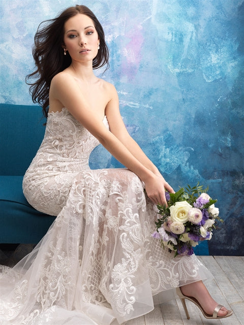 Allure - 9560 - Wedding Dress - Novelle Bridal Shop