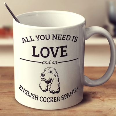 All You Need Is Love And An English Cocker Spaniel