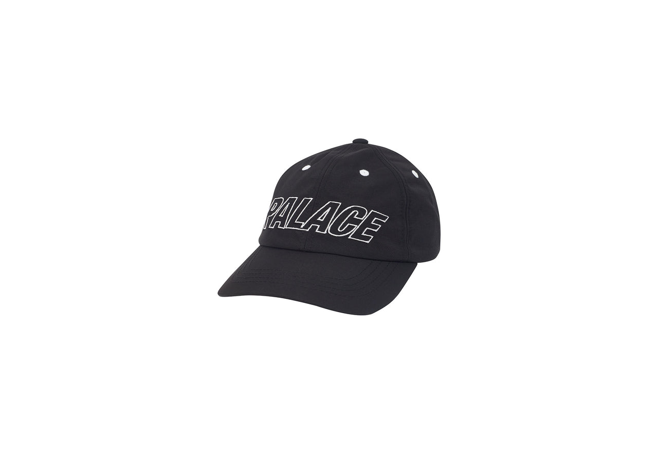 SONT SHELL 6-PANEL BLACK