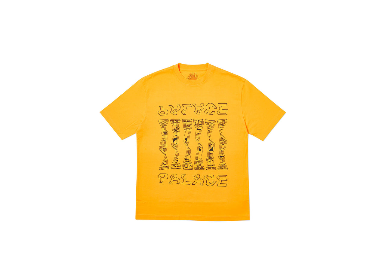 WARPER T-SHIRT YELLOW