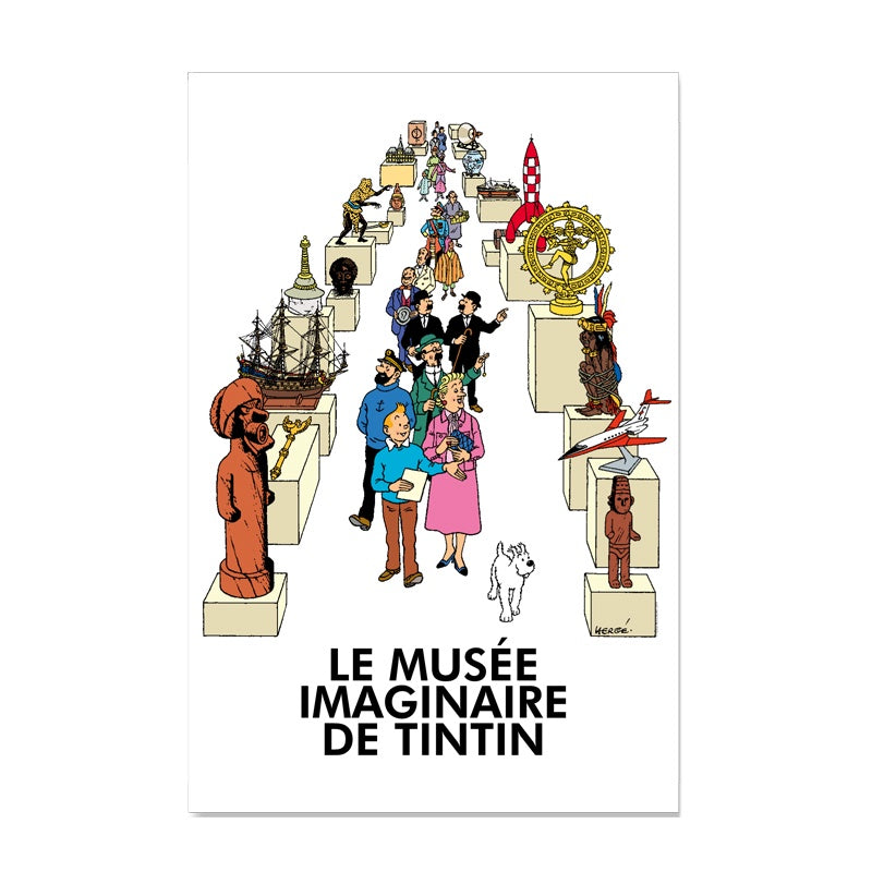 Tintin Le Musee Immaginaire Poster