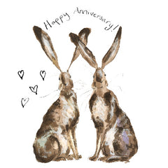 Lil and Gina Happy Anniversary Card by Catherine Rayner