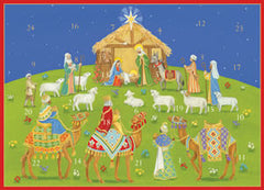 Under Christmas Sky Advent Card