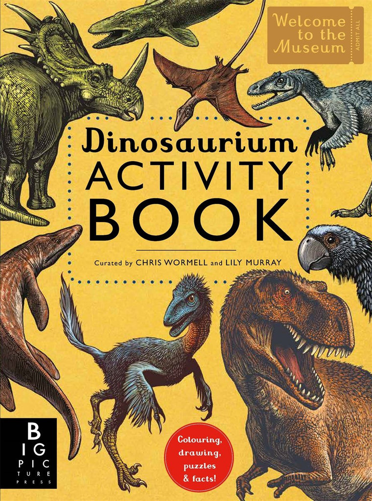 Dinosaurium Activity Book