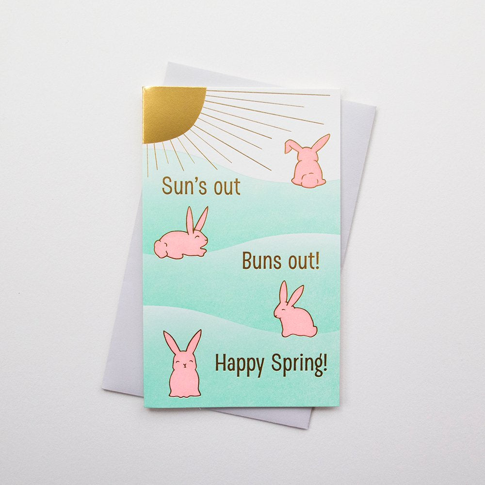 Sun's Out Buns Out Card