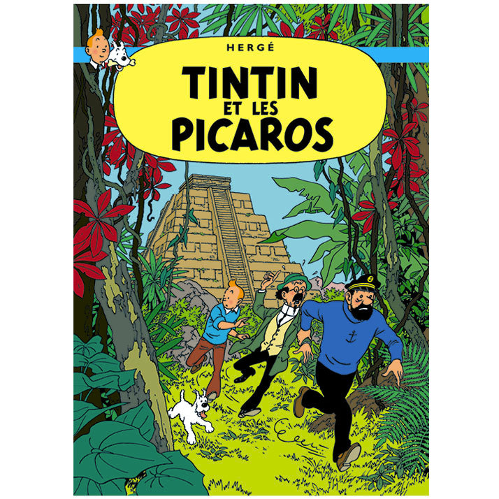 Tintin and the Picaros Poster