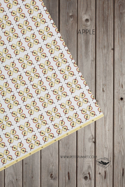 Graphic Series Wrapping Paper 'Apple' - Pack of 2