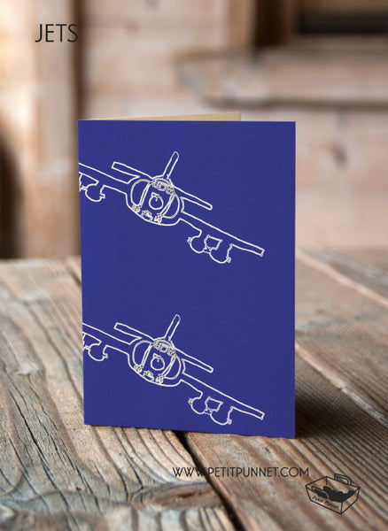 Jets Greeting Card