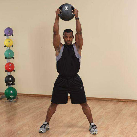Image of 18lb. Dual Grip Medicine Ball - Fitness Gear