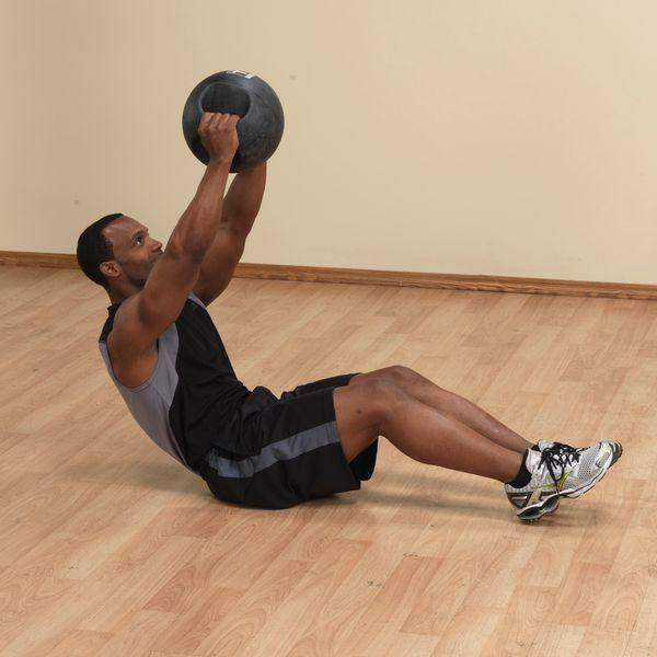 18lb. Dual Grip Medicine Ball - Fitness Gear