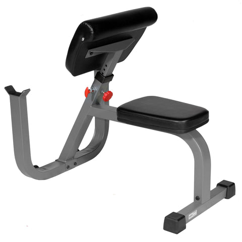 Image of Bench - XMark Seated Preacher Curl Weight Bench XM-4436