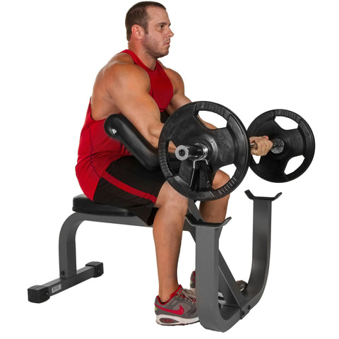 Image of Bench - XMark Seated Preacher Curl Weight Bench XM-7612