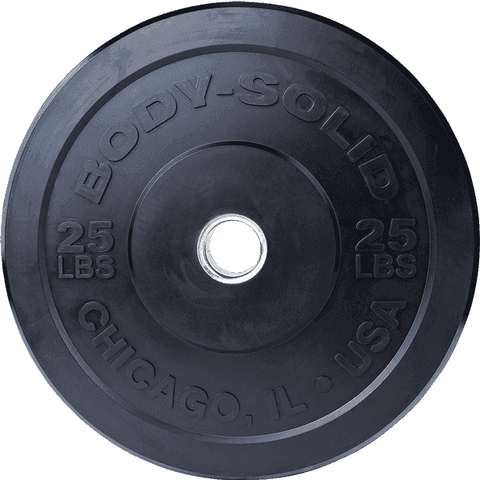 "Image of 25LB Chicago Extreme Bumper Plate, 17.72"", FULL COMMERCIAL - Fitness Gear"