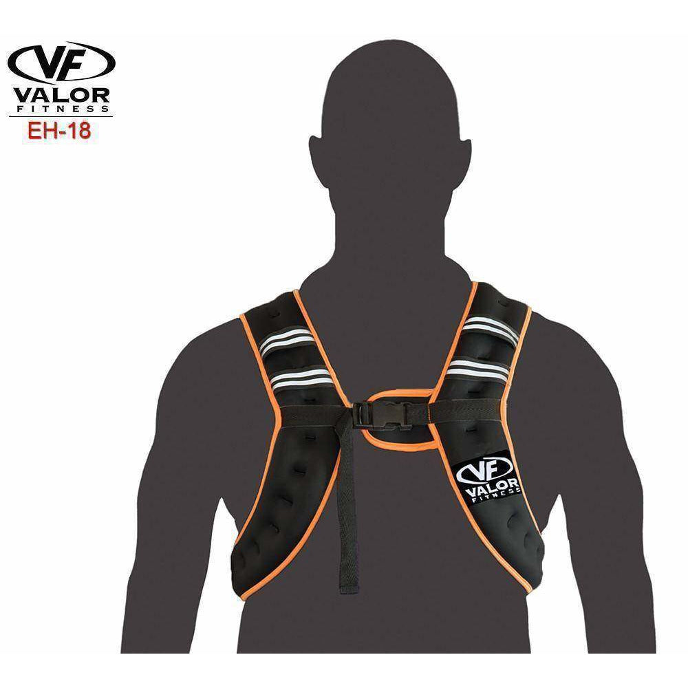 Valor Fitness EH-18 18lb Weight Vest - Fitness Gear