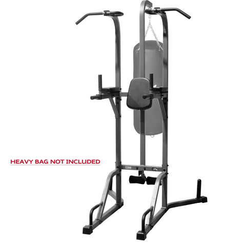 Heavy Bag - XMark Deluxe Power Tower And Heavy Bag Stand XM-2842