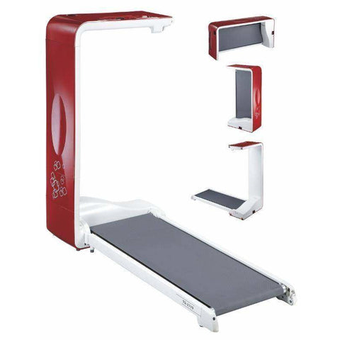 Image of BodyCraft Spacewalker Treadmill Red/White - Fitness Gear