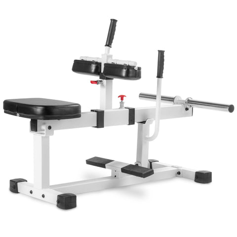 Home Gym - XMark Seated Calf Raise Machine XM-7613-WHITE