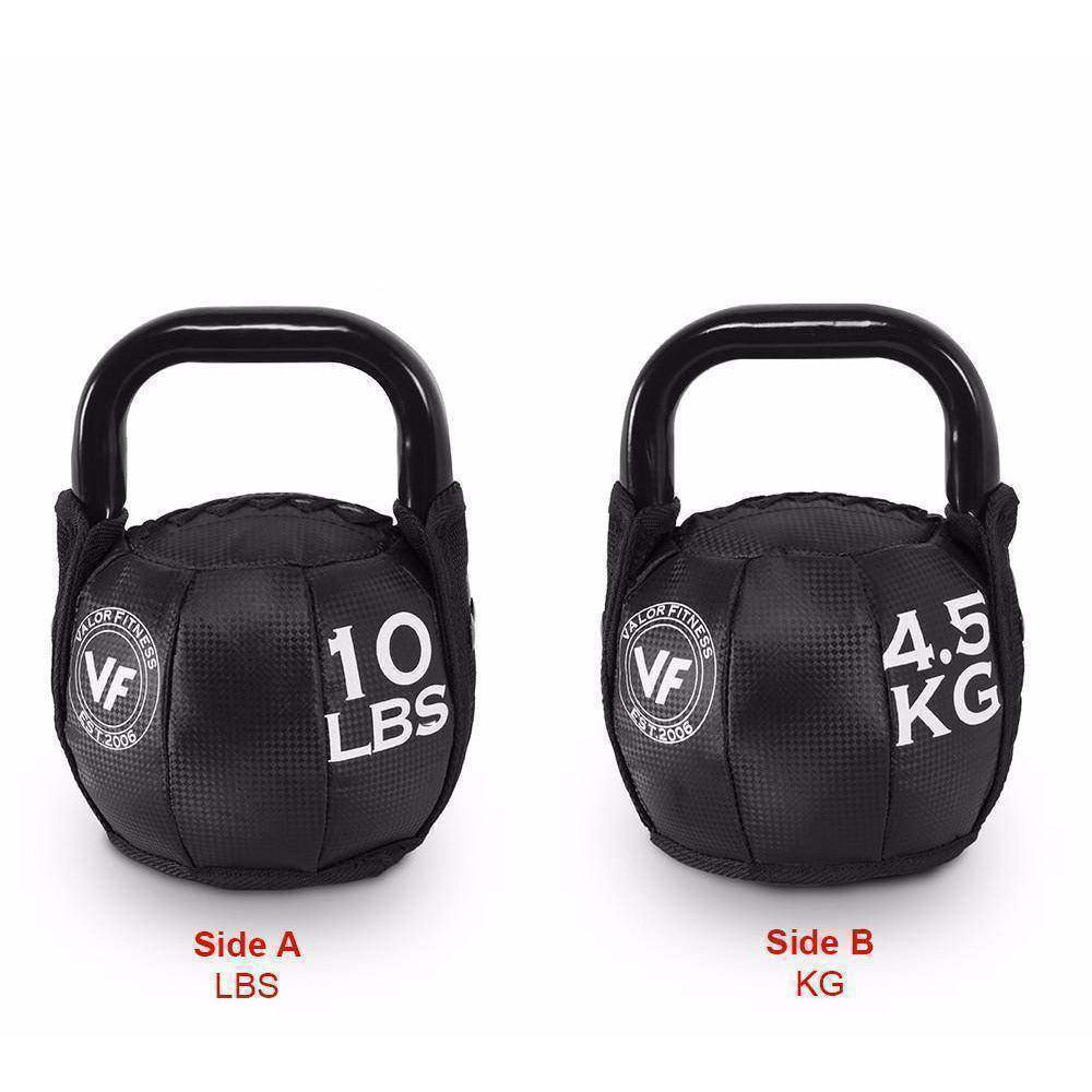 SKB-10 Valor Fitness 10lb Soft Kettlebell - Fitness Gear