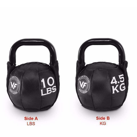 Image of SKB-10 Valor Fitness 10lb Soft Kettlebell - Fitness Gear