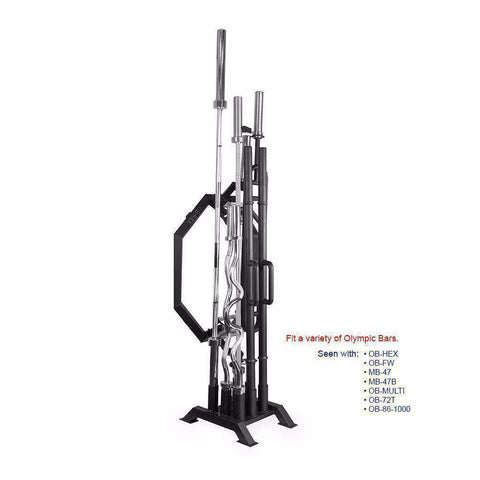 Image of Valor ValorPRO BH-10 Multi Bar Holder Stand - Fitness Gear