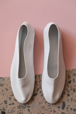 Glove Shoes - White