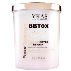 Y-Kas Brazilian Hair Treatment BBtox Gold - Botox Pro Repair Treatment Mask 1kg - Y-kas