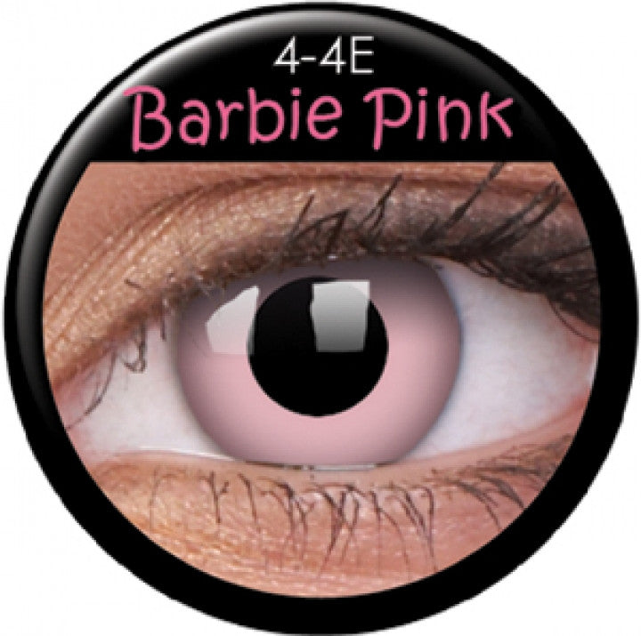 Barbie Pink Coloured Contacts