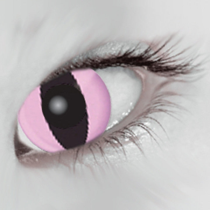 Pink Cat  Coloured Contacts (Comfort)
