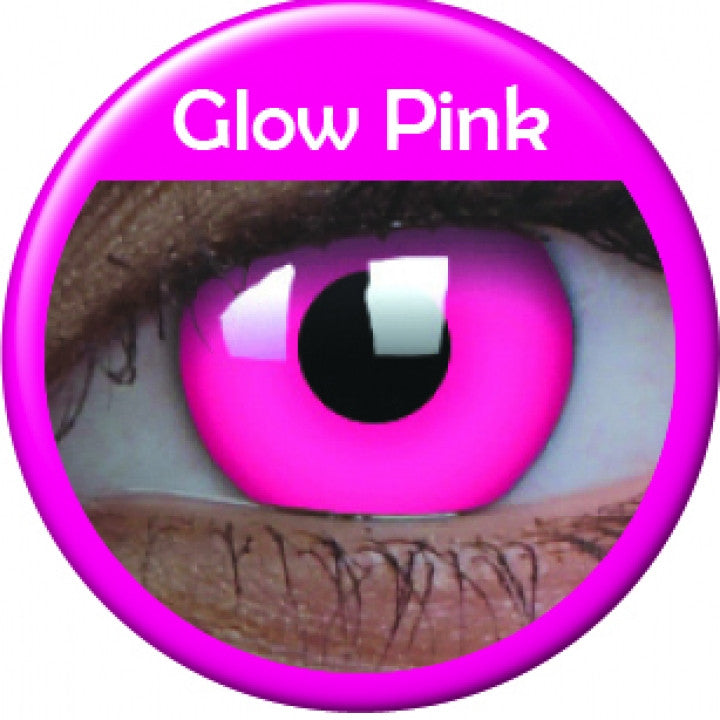 Pink Glow Coloured Lenses