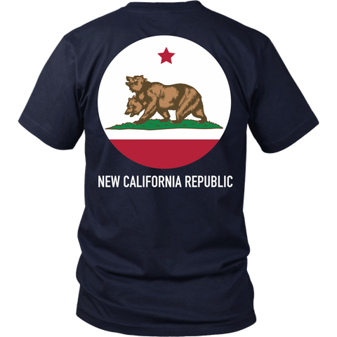 Fallout Inspired - New California Circle - Back design