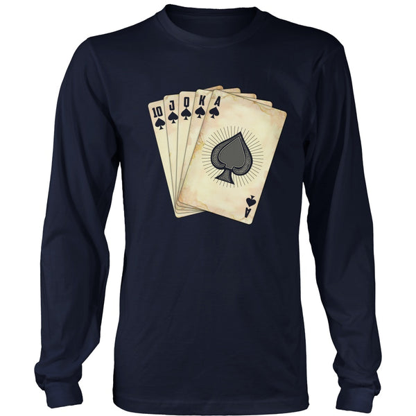 T-shirt - Poker Front / Huckleberry Back