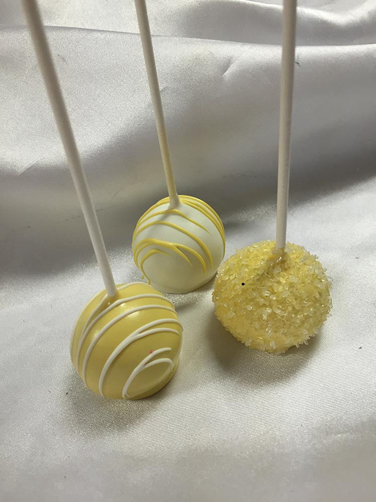 Mellow Yellow Cake Pops