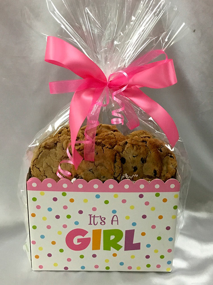 It's A Girl Cookie Gift