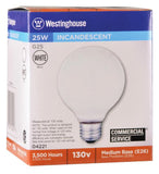 25 Watt G25 Incandescent Light Bulb