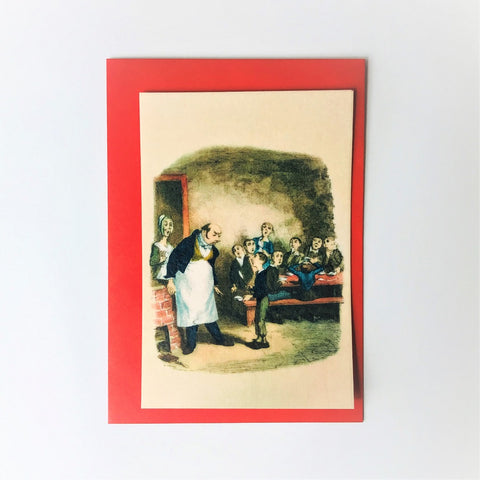 Oliver Twist Edible Greeting Card
