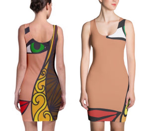 GODDESS One-Piece Dress
