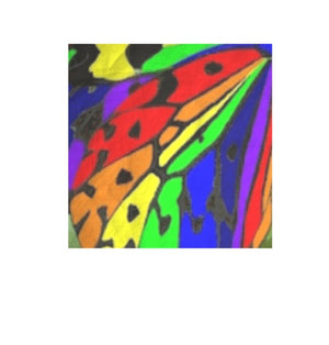 BUTTERFLY Silk Pocket Square Unisex