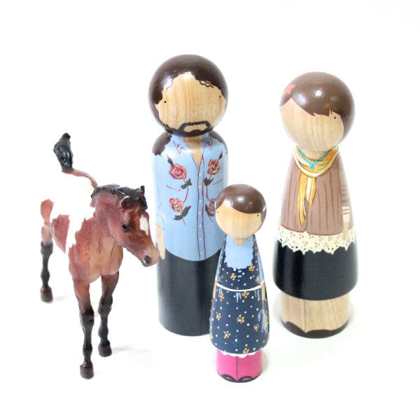 DELUXE Doll Custom Family of Three