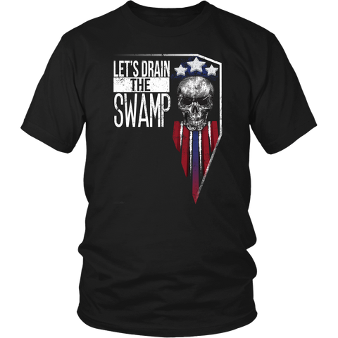 Let's Drain The Swamp Deplorables T Shirt